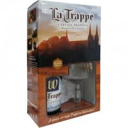 Kit La Trappe Witte com 1 Cerveja 750ml e 1 Taça