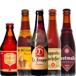 Kit Degustação do Estilo Dubbel com 5 Cervejas