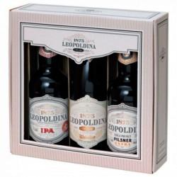 Kit da Cerveja Leopoldina com 3 Garrafas 500ml