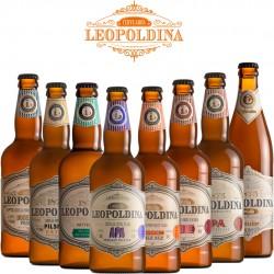Kit Degustação Leopoldina com 8 Cervejas