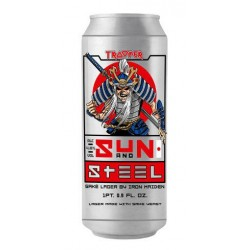 Cerveja Iron Maiden Trooper Sun And Steel Lata 500ml
