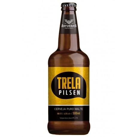 Cerveja Antuérpia Trela Pilsen 500ml