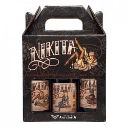 Kit da Cerveja Antuérpia Nikita com 3 Garrafas