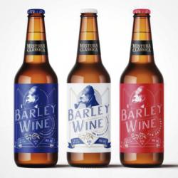 Kit Degustação Mistura Clássica Barley Wine Com 3 Cervejas