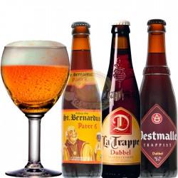 Kit Degustação Dubbel com 3 Cervejas e 1 Copo