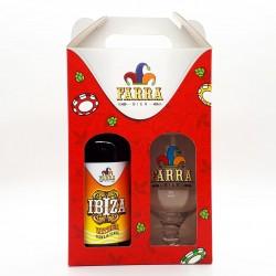 Kit Farra Bier com 1 Cerveja Ibiza Witbier e 1 Taça