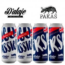 Kit Cervejas Colaborativas D'alaje e Pakas com 4 Latas