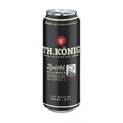 Cerveja Alemã Th. König Kellerbier 500ml