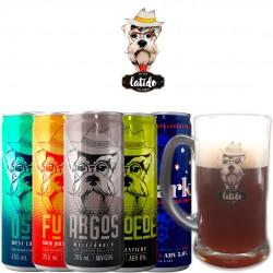 Kit Degustação Latido Ale House com 5 Cervejas e 1 Caneca