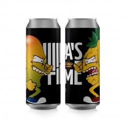 Kit da Cerveja D'alaje IPA's Time Com 2 Latas