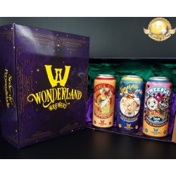 Kit Wonderland Brewery Com 3 Latas 473ml