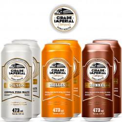 Kit Degustação Cidade Imperial com 6 Cervejas