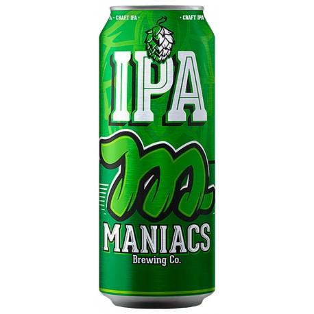 Cerveja Maniacs IPA Lata 473ml