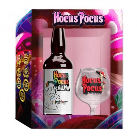 Kit Hocus Pocus com 1 Cerveja Alma e 1 Taça