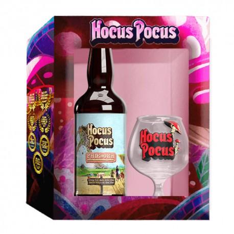 Kit Hocus Pocus com 1 Cerveja Pandora e 1 Taça