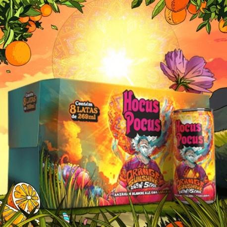 Pack Hocus Pocus Orange Sunshine com 8 Latas 269ml