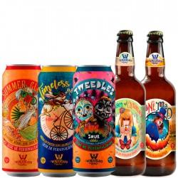Kit Degustação Wonderland Brewery com 5 Cervejas 500ml