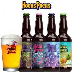 Kit Degustação Hocus Pocus com 4 Cervejas e 1 Caldereta