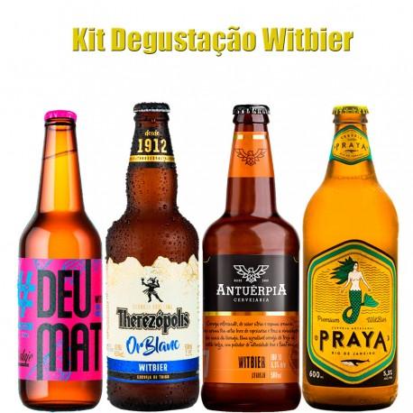 Kit Degustação Witbier com 4 Cervejas