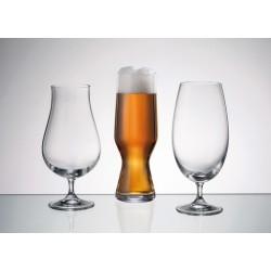 Kit com 3 Taças em Cristal para Cervejas