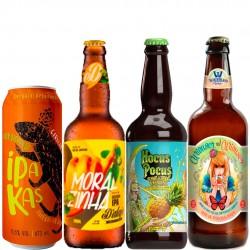 Kit Degustação India Pale Ale - IPA com 4 Cervejas