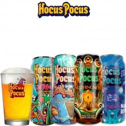 Kit Degustação Hocus Pocus com 4 Latas e 1 Caldereta