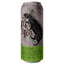 Cerveja WOOD PaKaStout Amburana 473ml