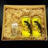 Kit Pakas Pilsen com 2 Cervejas e 1 Copo - Mdf