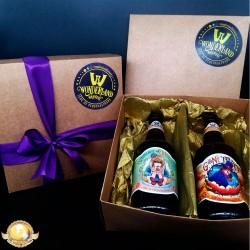 Kit Wonderland Brewery Com 2 Garrafas 500ml