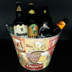 Balde com Kit Degustação Witbier 4 Cervejas