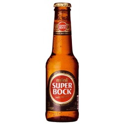 Cerveja Portuguesa Super Bock Mini 250ml