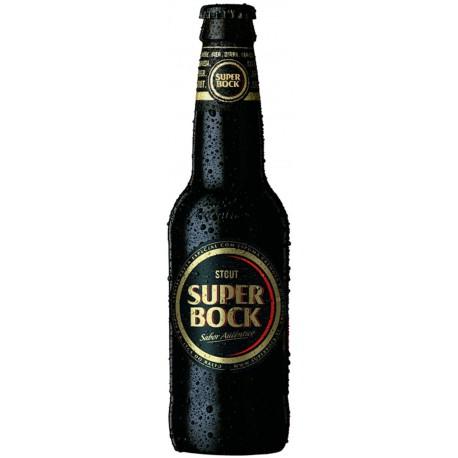 Cerveja Portuguesa Super Bock Stout 330ml