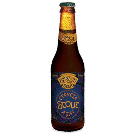 Cerveja Amazon Beer Açaí Stout 355ml