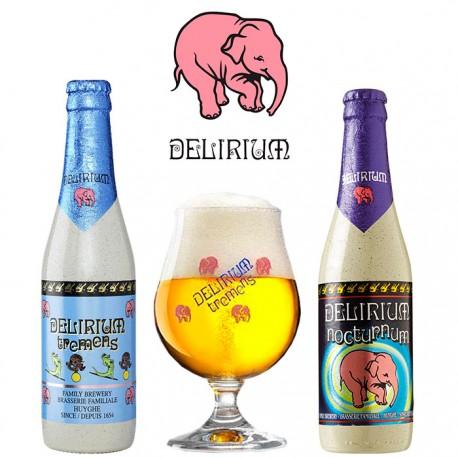 Kit Degustação Delirium + Copo 250ml