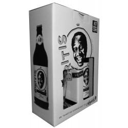 Kit Cerveja Biritis com 1 Garrafa e 1 Copo