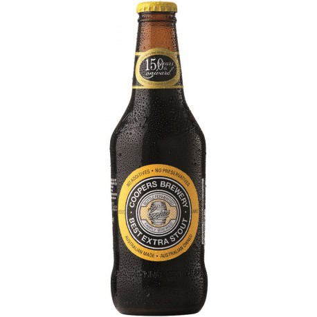 Cerveja Australiana Coopers Extra Stout 375ml