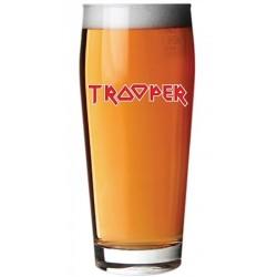 Copo Pint Cerveja Iron Maiden Trooper 500ml