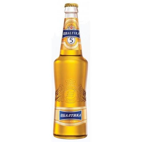 Cerveja Russa Baltika 5 Gold 500ml