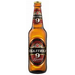 Cerveja Russa Baltika 9 Extra Strong 500ml