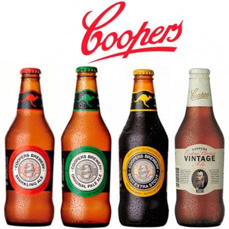 Kit Degustação Australianas Coopers com 4 Garrafas