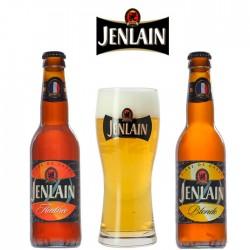 Kit Degustação Jenlain com 2 Cervejas e 1 Copo