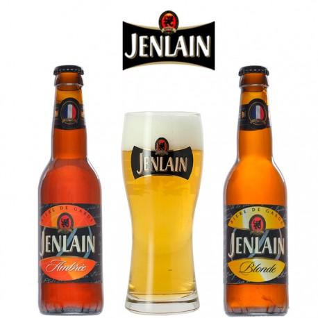 Kit Degustação Jenlain com 2 Garrafas e 1 Copo