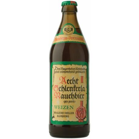 Cerveja Alemã Aecht Schlenkerla Rauchbier Weizen 500ml