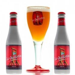 Kit Degustação La Guillotine com 2 Cervejas e 1 Taça