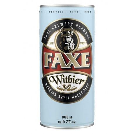 Cerveja Dinamarquesa Faxe Witbier 1000ml