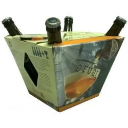 Kit Cerveja Orval com 4 garrafas e 1 Copo