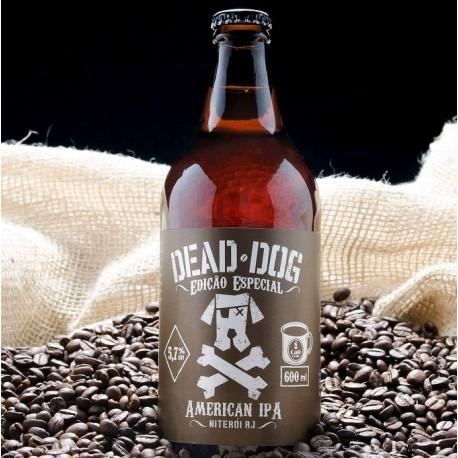 """Cerveja Dead Dog """"Edição Especial"""" Coffe IPA 600ml"""