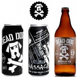 Kit Degustação Dead Dog com 3 Cervejas