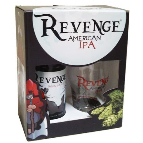 Kit Cerveja Revenge IPA com Copo
