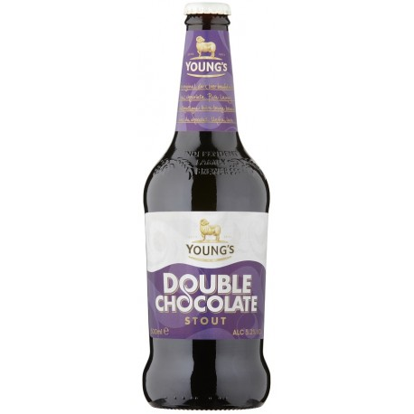 Cerveja Inglesa Young's Double Chocolate Stout 500ml